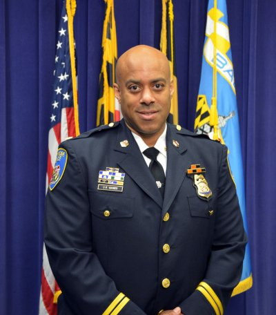 Portrait of Daryl R Gaines, incoming Chief of Police at Lansing Community College
